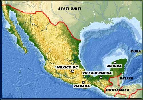 Vacanza da sogno forum - Mappa messico mappa da colorare pagina ...