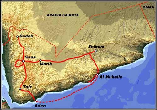 Cartina Yemen.Cartina Yemen Imagesofworld